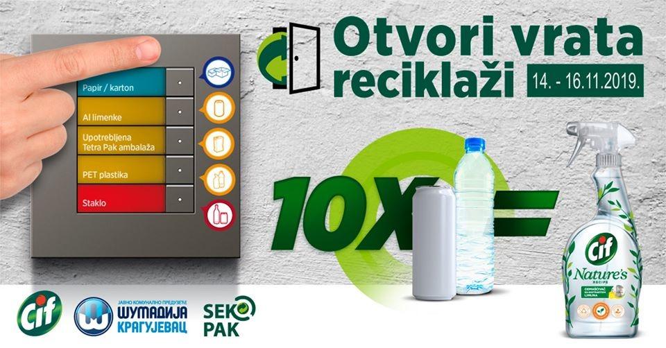 Otvori vrata reciklaži