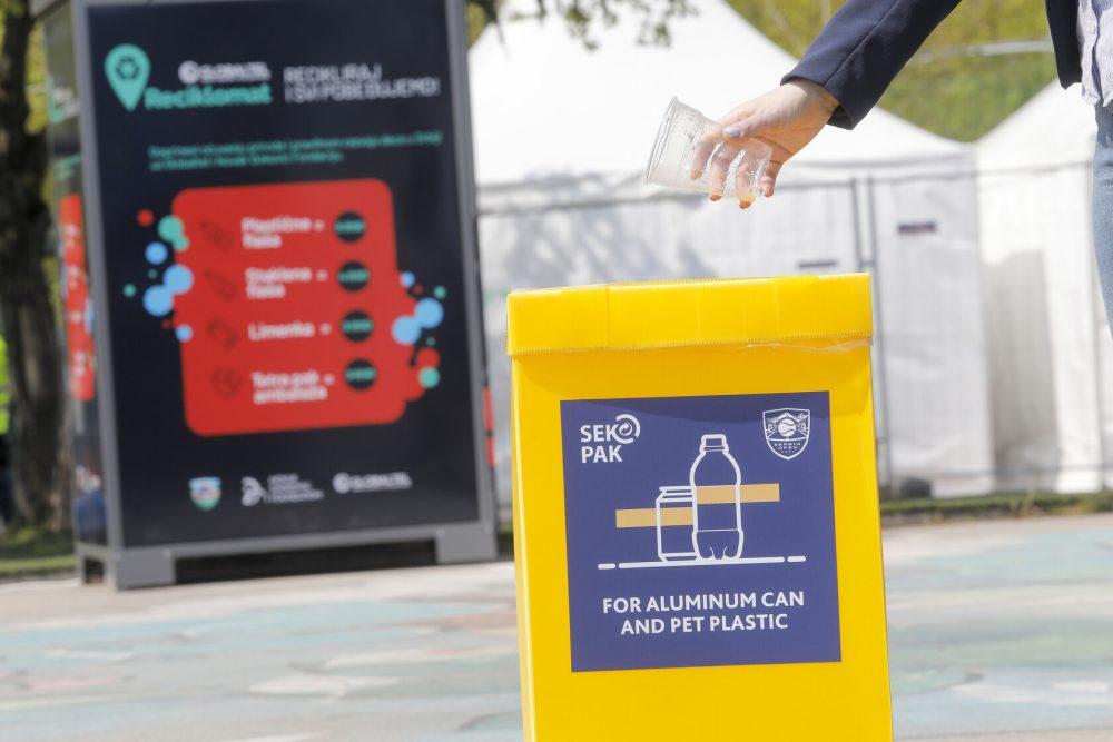 Osvoji bodove za planetu Zemlju - recikliraj!